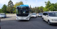 Кытайдан алынып келген жаңы автобустардын бири кырсыкка кабылды