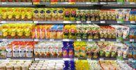 Витрина в супермаркете. Архивное фото