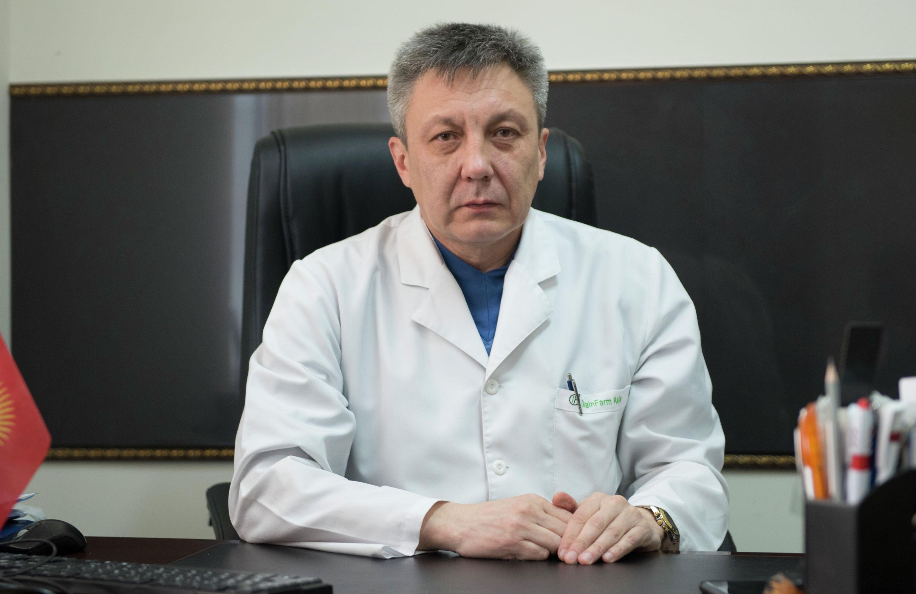 Руководитель отдела Маммологии Национального центра онкологии Дамир Абдылдаев