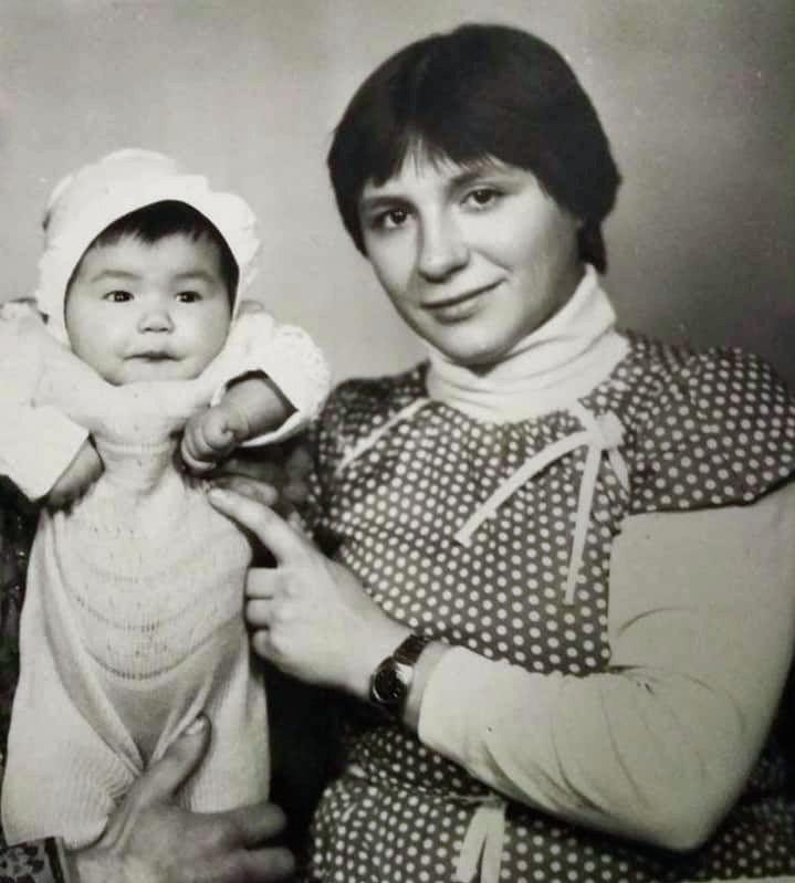 Россиянка Наталья с матерью
