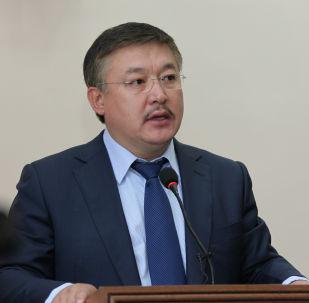 Экс-спикер Ахматбек Келдибеков. Архивное фото