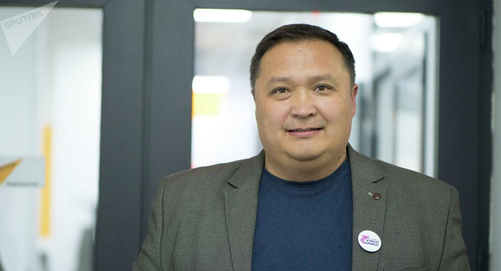 Жергиликтүү өндүрүшчүлөрдүн ассоциациясынын башчысы Бакыт Дегенбаев