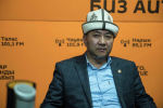 Кыргызстан мусулмандарынын дин башкармалыгынын окуу бөлүмүнүн башчысы Акимжан Эргешов. Архивное фото