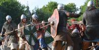 Битва на мечах. Архивное фото