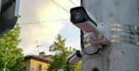 Бишкекте Коопсуз шаардын камералары. Архивдик сүрөт