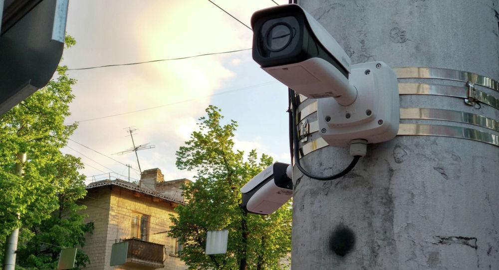 Бишкектеги Коопсуз шаар камералары. Архивдик сүрөт