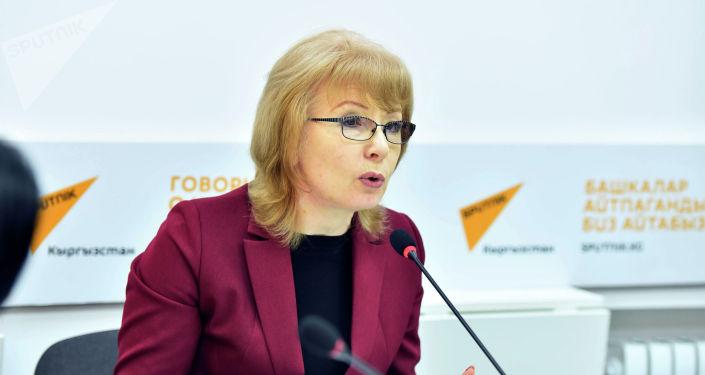 Депутат Жогорку Кенеша Евгения Строкова. Архивное фото
