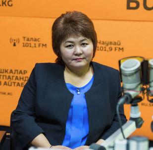 Кыргыз почтасы мамлекеттик ишканасынын ташуу жана логистика бөлүмүнүн башчысы Мимоза Жээнбекова