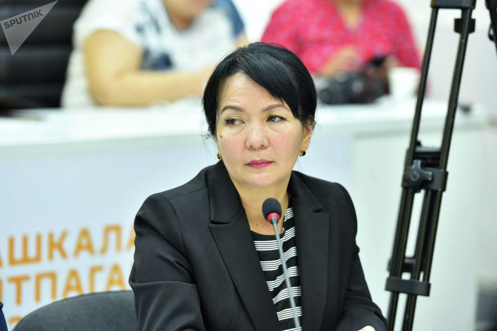 Главный специалист Министерства образования и науки Гульшан Абдылдаева