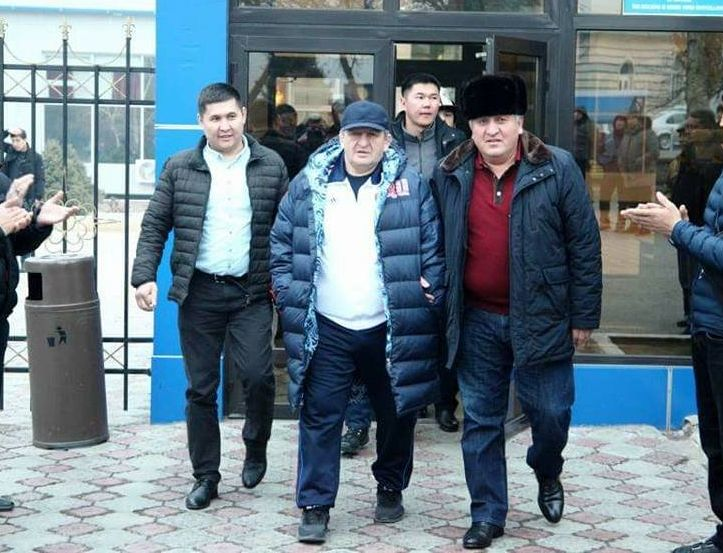 Ош посетил заслуженный тренер России Абдулманап Нурмагомедов — отец и тренер популярного бойца UFC Хабиба Нурмагомедова