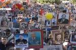 В Бишкеке начинается шествие Бессмертного полка — традиционная акция, которая проводится ежегодно 9 мая.