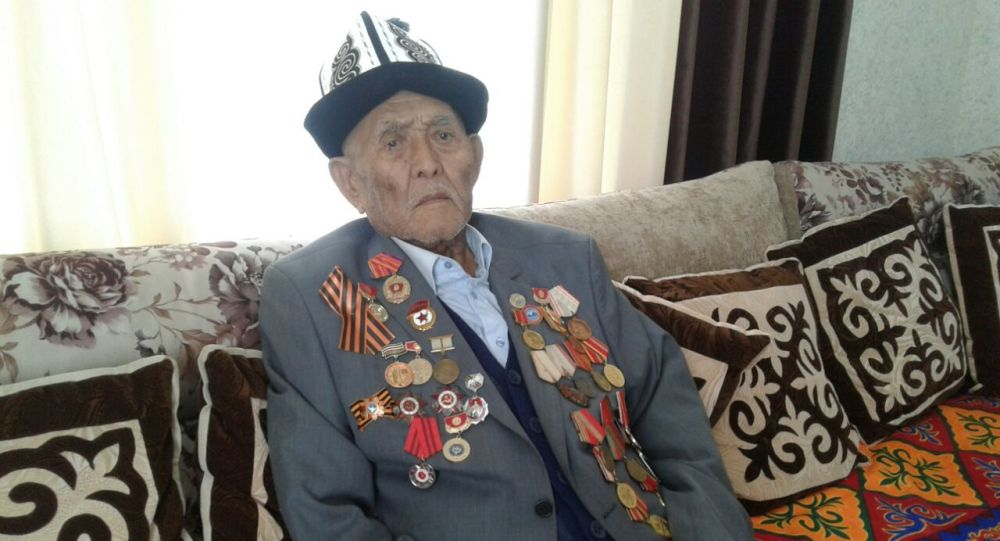 Улуу Ата мекендик согуштун ардагери Тенти Тамашаев