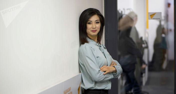 Алып баруучу Зуля Тургунбекова