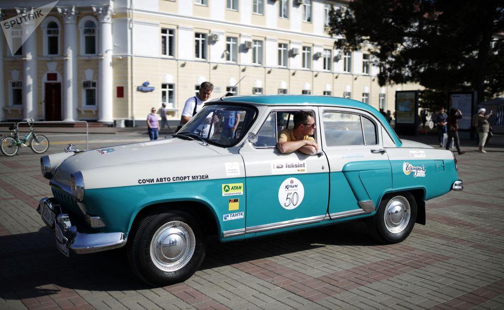 Раритетных автомобилей марки Волга на мероприятии было больше других марок