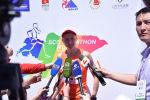 Кыргызстанка Дарья Маслова стала первой среди женщин на международном марафоне ШОС на Иссык-Куле