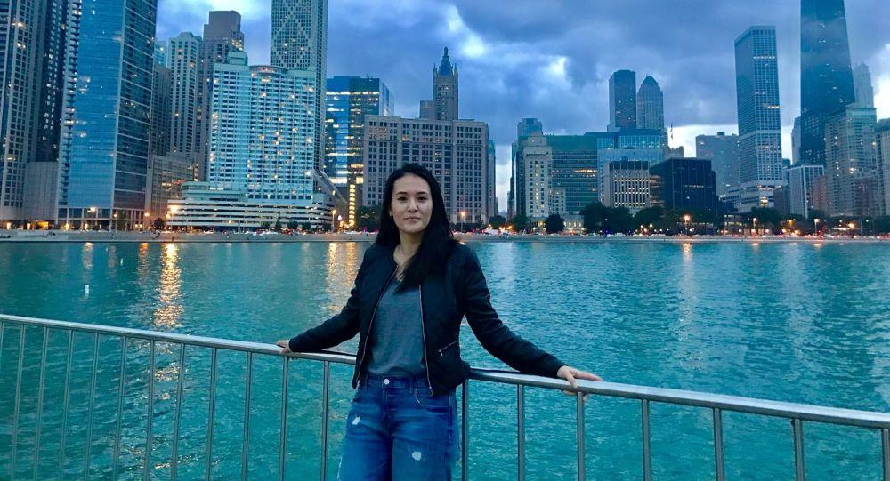 Кыргызстанка Астра Рахматилла кызы, живущая и работающая в США