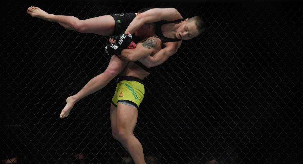 Америкалык мушкер Роуз Намаюнас UFC 237 турниринин алкагында бразилиялык Жессика Андрадеге нокаут менен утулду