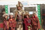 Участник этнофестиваля Camel Fest Инамидин Бектемиров с ростом 2 метра. Архивное фото
