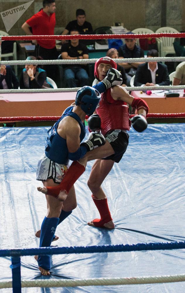Мелдешти Жаштар иши, дене тарбия жана спорт агенттиги жана Тай бокс федерациясы өткөрдү