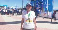 Милициянын генерал-майору Кемелбек Киязов 42 чакырым 195 метр марафондук аралыкка чуркап биринчи келди
