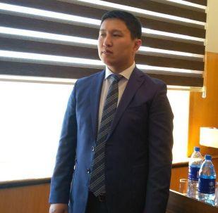 Мэр Балыкчи Марат Кудайбергенов
