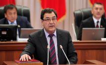 Вице-премьер-министр Шамил Атаханов. Архив