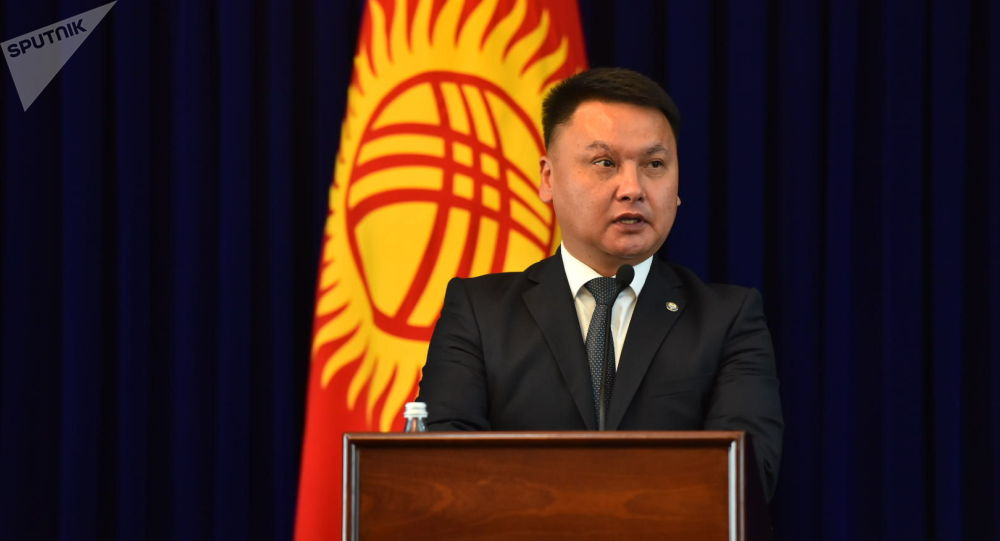 Секретарь Совета безопасности Кыргызстана Дамир Сагынбаев. Архивное фото