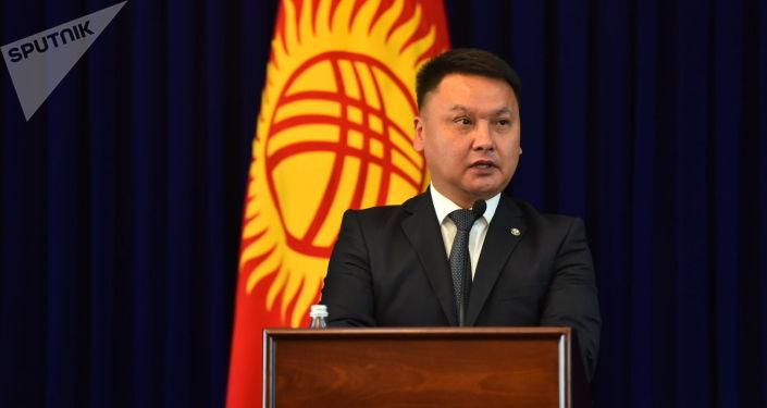 Секретарь Совета безопасности Кыргызстана Дамир Сагынбаев