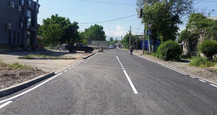 Улица Абая в Бишкеке после ремонта