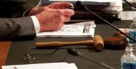 Судья на судебном заседании. Архивное фото