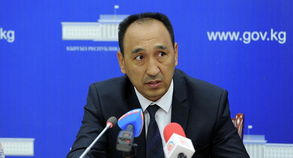 Бывший председатель правления Айыл Банка Мурат Акимов. Архивное фото
