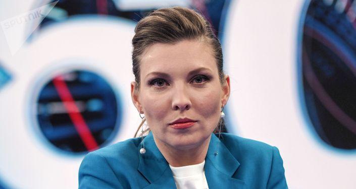 Российская журналистка и телеведущая Ольга Скабеева. Архивное фото