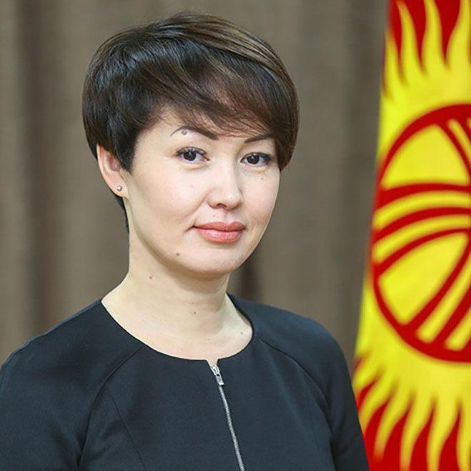 Аудитор Счетной палаты КР Айжан Садыркулова