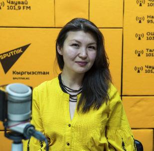 Искусствовед, организатор Ночи музеев Чолпон Тентиева