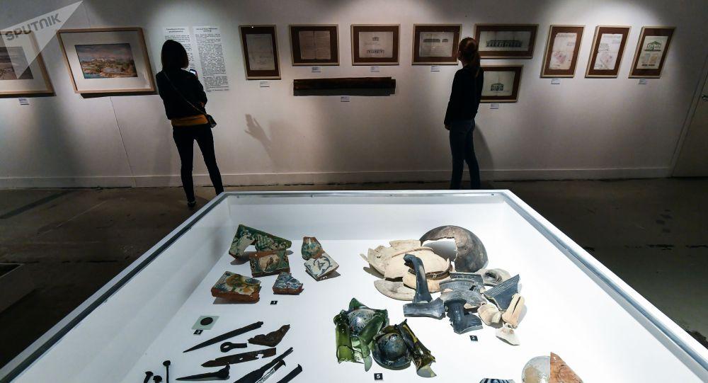 Посетители в акции Ночь музеев. Архивное фото