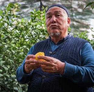 Житель села Ак-Турпак Ибадулла Кенжебаев