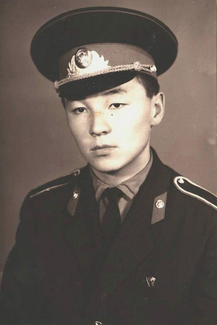 Генерал-майора Шейшенбек Байзаков в молодости