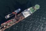 Судно Solitaire выполняет работы по укладке газопровода Северный поток - 2 в российских водах