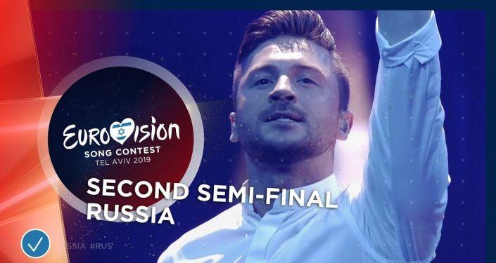 Певец Сергей Лазарев выступил на Евровидении-2019 с песней Scream и занял третье место.
