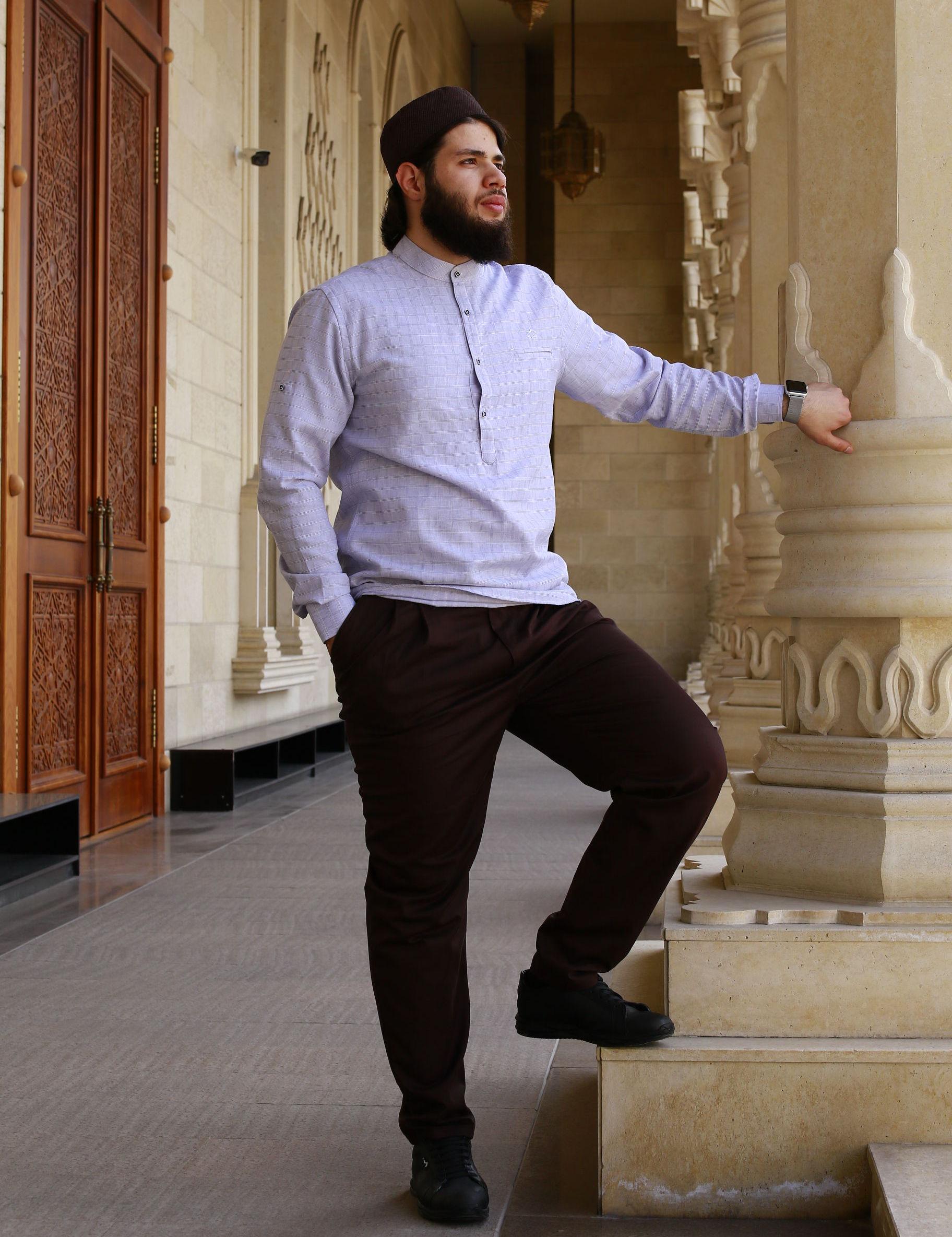 Одежда для мусульман изготовленный компанией Азиза Исмагамбетова