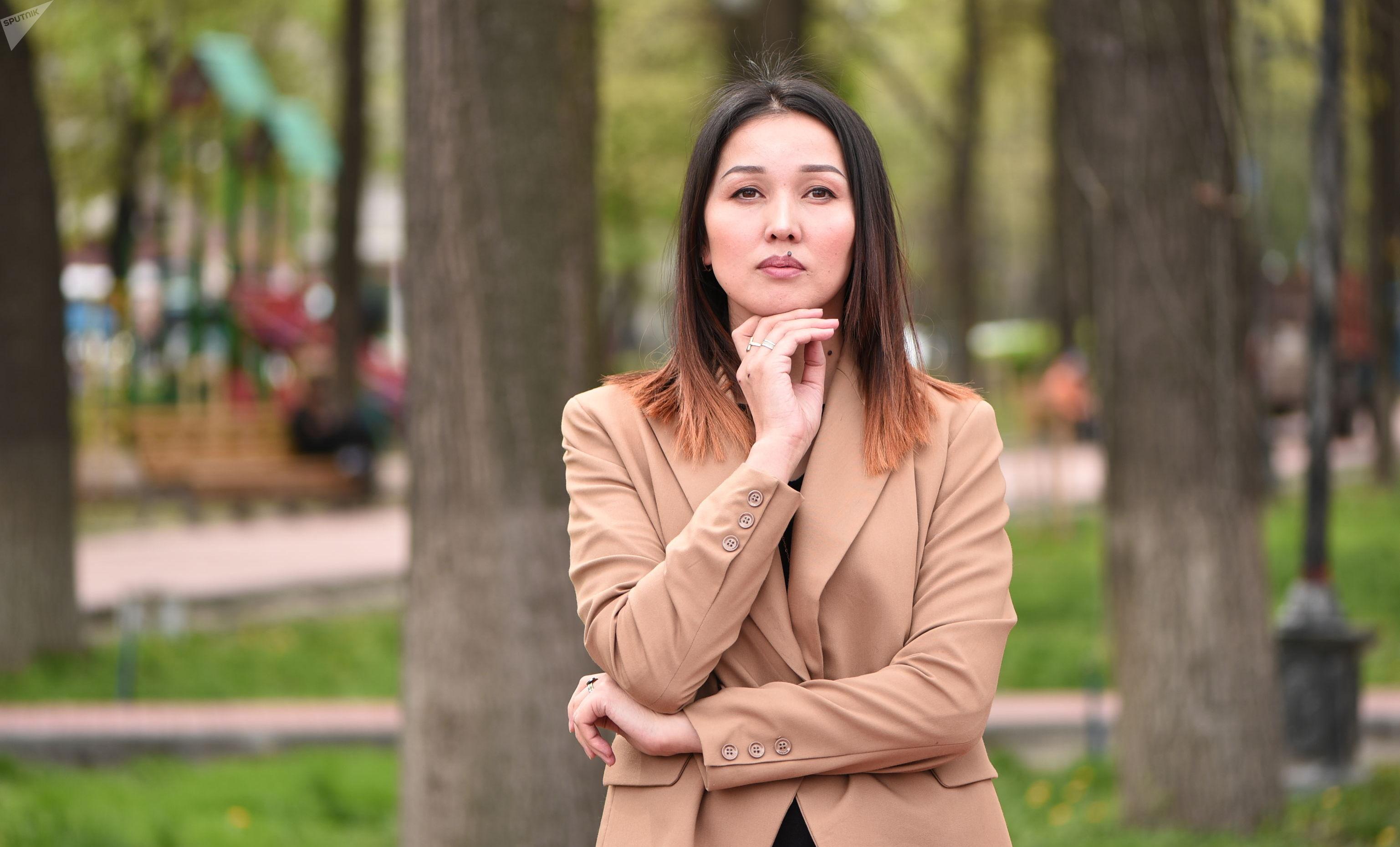 Бизнесвумен Жаркынай Деркембаева