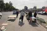 Бишкектин Орто-Сай базарында башаламан коюлган күркөлөр алынганын мэриянын маалымат кызматы билдирди
