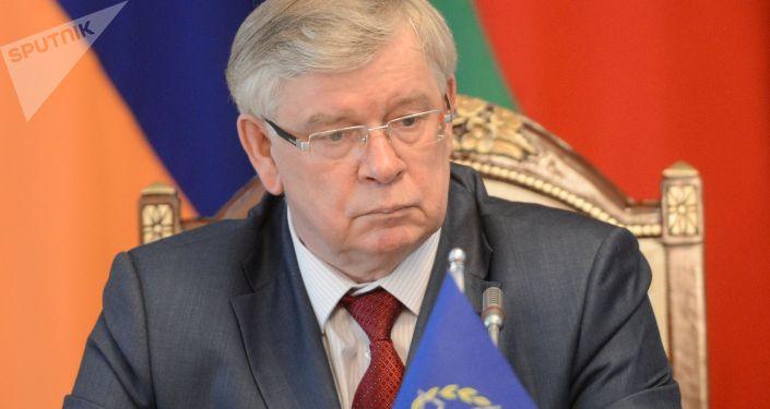 Исполняющий обязанности генерального секретаря ОДКБ Валерий Семериков. Архивное фото