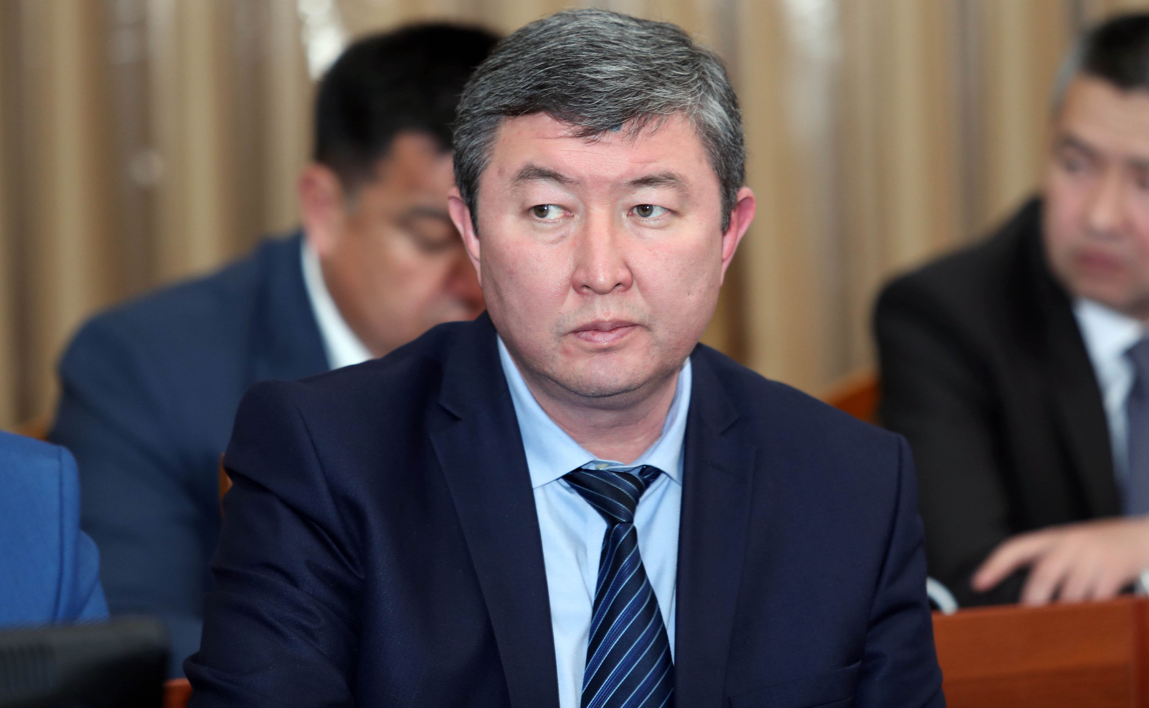 Руководителя Аппарата правительства Кыргызской Республики Мурат Мукамбетов