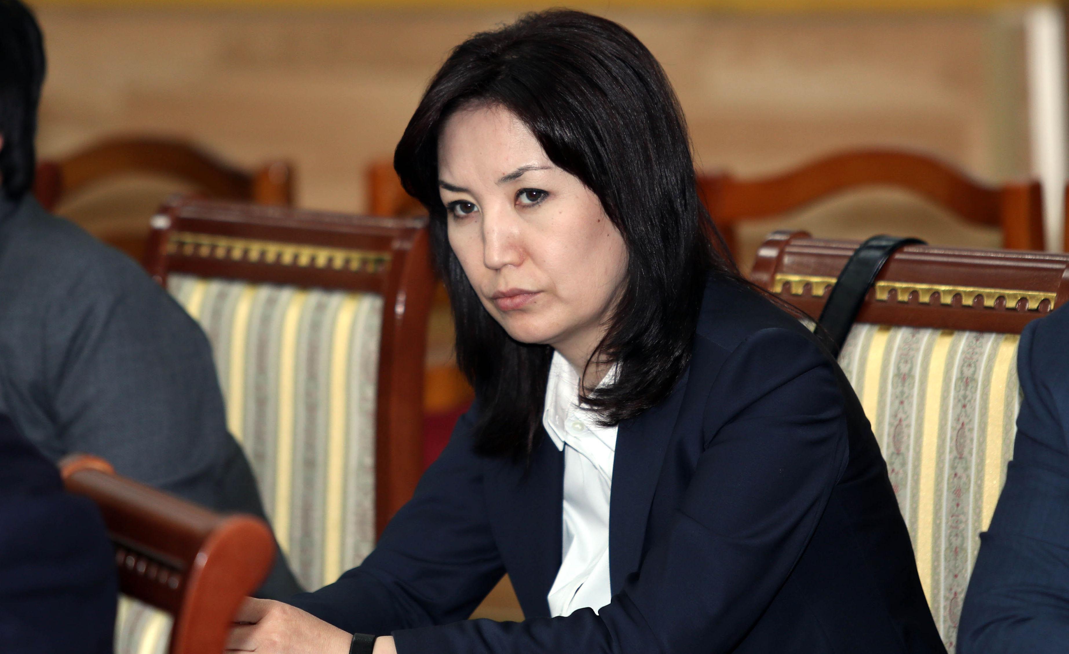 Министр юстиции Кыргызской Республики Айнур Абдылдаева