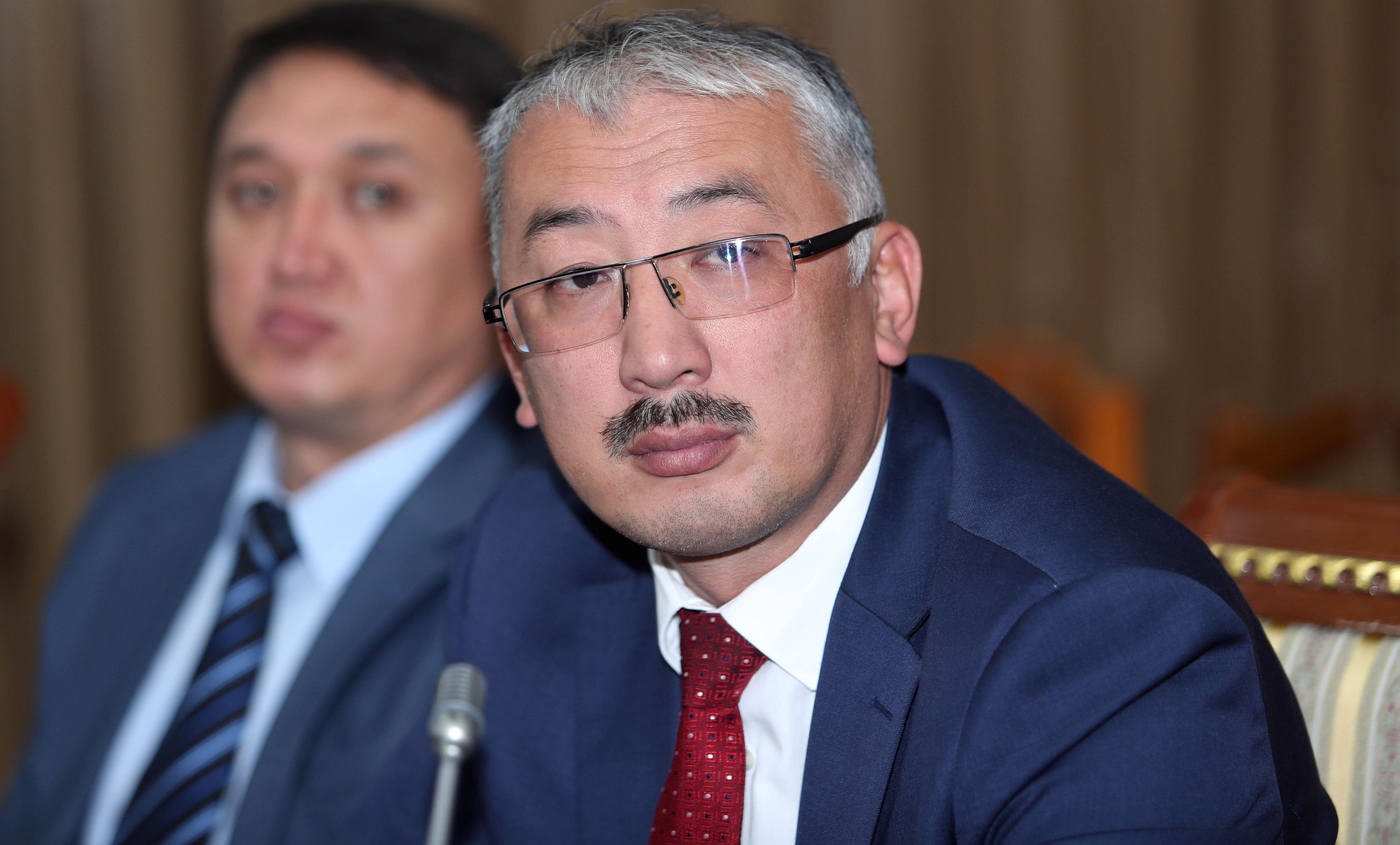 Председатель Государственного комитета промышленности, энергетики и недропользования КР Улан Рыскулов