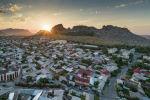 Ош шаарындагы Сулайман-Тоо. Архивдик сүрөт