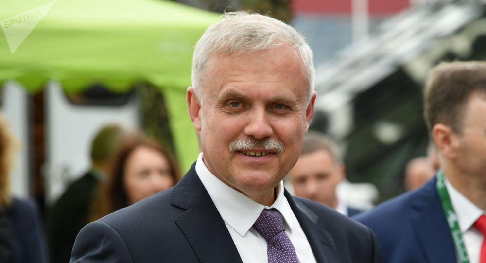 Глава Совоета безопасности Беларуси Станислав Зась