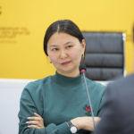 Представитель фонда Городские инициативы Айканыш Дербишева