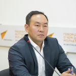 Заведующий отделом транспорта и муниципальной собственности аппарата мэрии Бишкека Кубан Джусупов